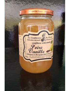 Confiture poire vanille
